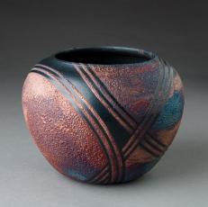 Raku Pottery by Lori Duncan
