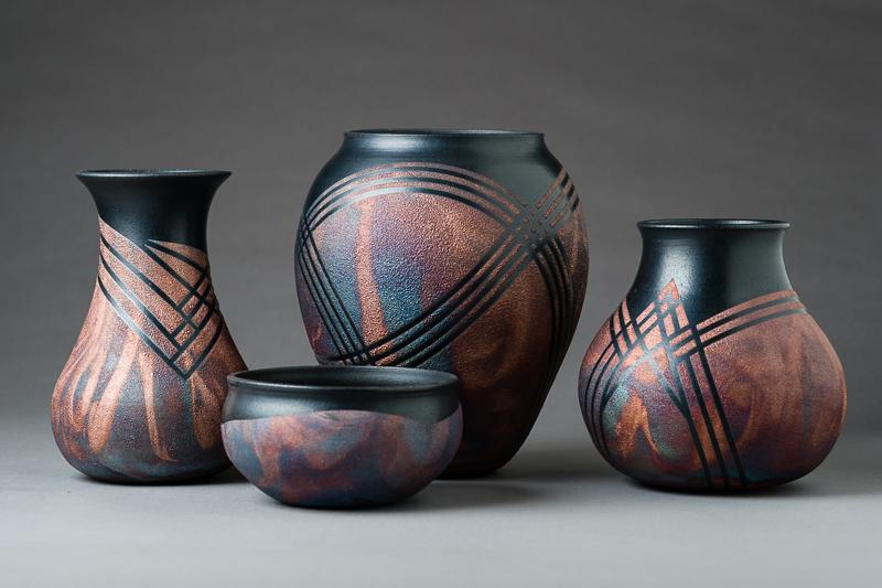 Nature Of Clay Pottery By Lori Duncan