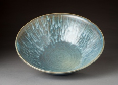 Sea Green Stoneware Bowl